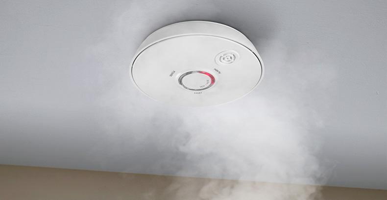 Detector fotoeléctrico de humos